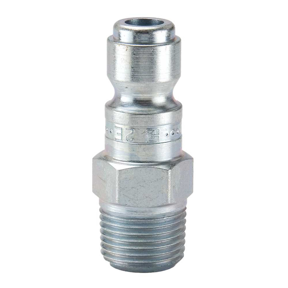 .10 Series Steel Nipple with Male Threads