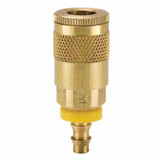 10 Series Brass Coupler with Push-Lok Hose Barb