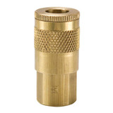 10 Series Brass Coupler with Female Threads
