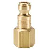 10 Series Brass Nipple with Female Threads