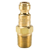 10 Series Brass Nipple with Male Threads