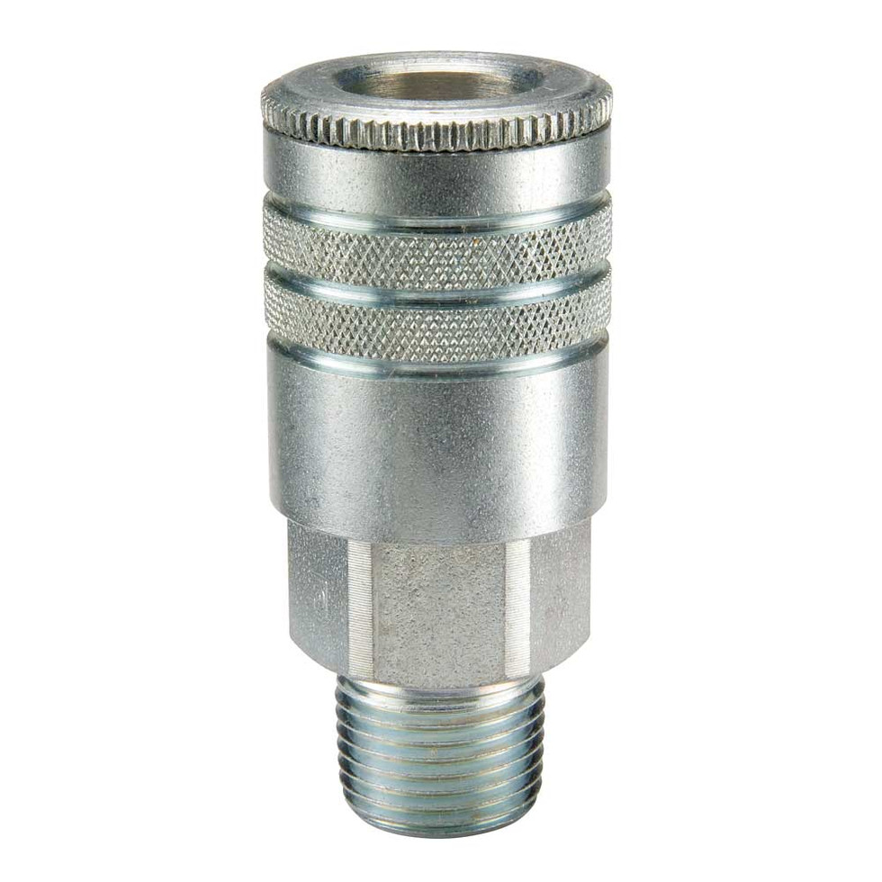 .20 Series Steel Coupler with Male Threads