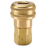 30 Series Brass Coupler with Female Threads
