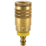Brass 50 Series Coupler with Push-Lok Hose Barb