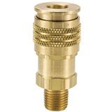 Brass HA Series Coupler with Male Threads
