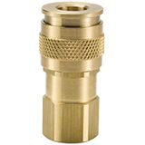 Brass UC Series Coupler with Female Threads