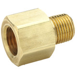 Female Flare to Pipe - Connector - Brass 45 Flare Fittings