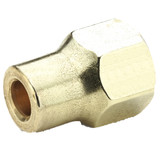 Flare - Long Forged Nut - Brass 45 Flare Fittings