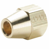 Flare - Short Extruded Nut - Brass 45 Flare Fittings
