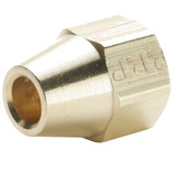 Flare - Shorter Extruded Nut - Brass 45 Flare Fittings