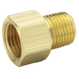 Flare to Pipe - Connector - Brass Inverted Flare Fittings