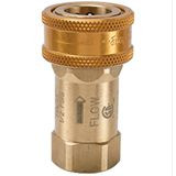 GF Series Brass Coupler