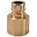 GF Series Brass Nipple with Safety Fuse