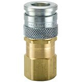 HF Series Steel and Brass Coupler with Female Threads