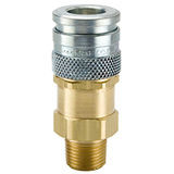 HF Series Steel and Brass Coupler with Male Threads