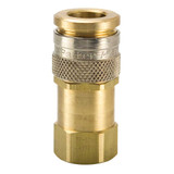 RF Series High Flow Brass Coupler with Female Thread