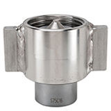 Snap-tite 75 Series Stainless Steel Coupler with Wing Nut Sleeve