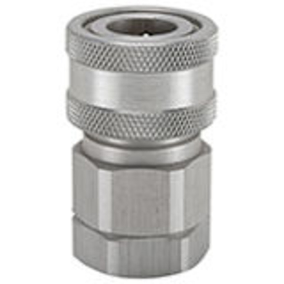 .Snap-tite H Series aluminum Coupler, Unvalved