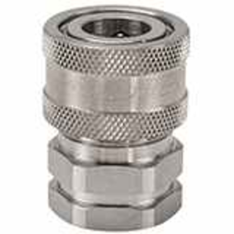 .Snap-tite H Series Stainless Steel Coupler, Unvalved