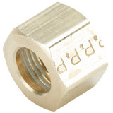 Tube - Nut - Brass Compression Fittings