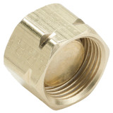 Tube - Plug - Brass Compression Fittings, High Pressure