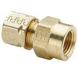 Tube to Female Pipe - Connector - Brass Compression Fittings, High Pressure
