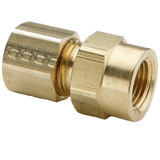 Tube to Female Pipe - Connector - Brass Compression Fittings