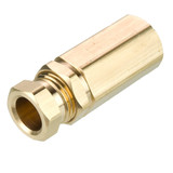 Tube to Female Pipe - Connector - Brass Flareless Tube Fitting, Impulse