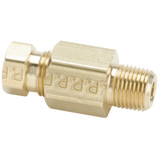 Tube to Pipe - Connector - Brass Flareless Tube Fitting, Impulse