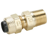 Brass Compression Fittings for Thermoplastic and Soft Metal Tubing