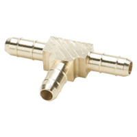 Brass Pneumatic Hose Barbs for Tubing, Dubl-Barb
