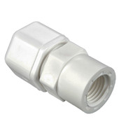Compression Style Plastic Fittings
